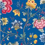 PiP III Behang Eijffinger Floral Fantasy Donker Blauw 341034