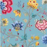PiP III Behang Eijffinger Floral Fantasy Blauw 341035