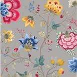 PiP III Behang Eijffinger Floral Fantasy Grijs 341038