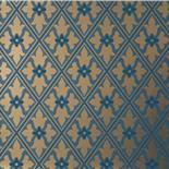 Behang Little Greene London Wallpapers IV Bayham Abbey 1880 Celestial