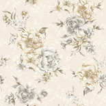 Behang Dutch First Class Enchanted Garden Lavinia beige