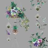 Behang Dutch First Class Glasshouse Botany grijs-multi