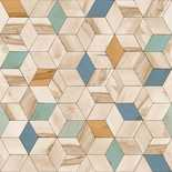 Behang Dutch Wallcoverings Hexagone L593-01
