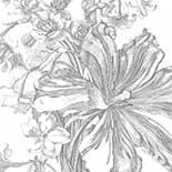 Behang Dutch Wallcoverings KEK Engraved Flowers II WP.332