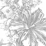 Behang Dutch Wallcoverings KEK Engraved Flowers II WP.336
