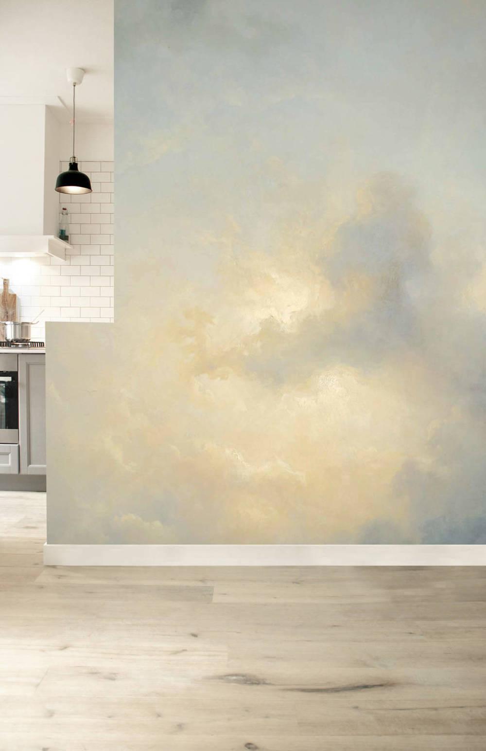 Dutch Wallcoverings Behang.Behang Dutch Wallcoverings Kek Golden Age Clouds Wp 395 Behangsite Com