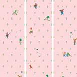 Behang Dutch Wallcoverings KEK Kikker roze WP.301