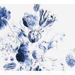 Behang Dutch Wallcoverings KEK Royal Blue Flowers II WP.224