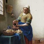 Behang Dutch Wallcoverings Painted Memories Melkmeisje 8011
