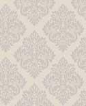 Behang Dutch Wallcoverings Behang medaillon d.grijs/glitter 40193