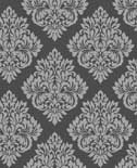 Behang Dutch Wallcoverings Behang medaillon l.grijs/glitter 40198