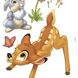 Behang Komar Disney Bambi Sticker