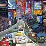 Behang Komar Disney Cars Tokyo Sticker