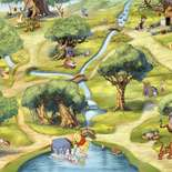 Behang Komar Disney Hundertmorgenwald