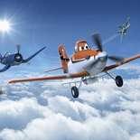 Behang Komar Disney Planes Above The Cloud