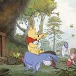 Behang Komar Disney Poohs House