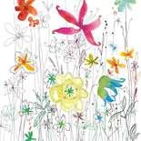 Behang Komar Flowers & Textures Joli