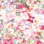 Behang Komar Flowers & Textures Prisma