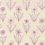 Behang Little Greene 20th Century Papers Florette 1954 Pastille