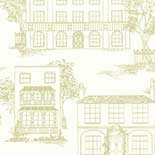 Behang Little Greene 20th Century Papers Hampstead 1949 Cloister
