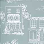 Behang Little Greene 20th Century Papers Hampstead 1949 Penumbra