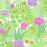 Behang Little Greene 20th Century Papers Reverie 1971 Jardin