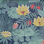 Behang Little Greene 20th Century Papers Reverie 1971 Nile