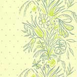 Behang Little Greene 50s Line Papers Bouquet 1956 Summer
