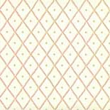 Behang Little Greene 50s Line Papers Quilt 1956 Cardinal