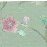 Behang Little Greene Archive Trails China Rose 1885 French Grey Lustre