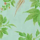 Behang Little Greene Archive Trails Paradise 1940 Blue