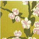 Behang Little Greene Archive Trails Sakura 1936 Yellow Lustre