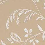 Behang Little Greene London Wallpapers II Bedford Square 1900 Ecru