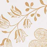 Behang Little Greene London Wallpapers II Bedford Square 1900 Lace