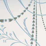 Behang Little Greene London Wallpapers II Marlborough 1915 Crystal