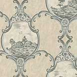 Behang Little Greene London Wallpapers III Crooms Hill 1760 Breccia