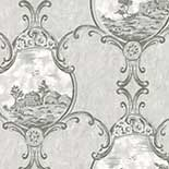 Behang Little Greene London Wallpapers III Crooms Hill 1760 Haze