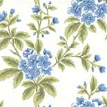 Behang Little Greene London Wallpapers III Grosvenor Street 1830 Cornflower
