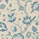 Behang Little Greene London Wallpapers III High Street 1885 Lapis