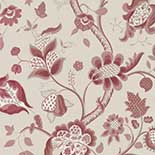 Behang Little Greene London Wallpapers III High Street 1885 Rouge