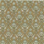 Behang Little Greene London Wallpapers IV Borough High St. 1880 Foil