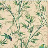 Behang Little Greene London Wallpapers IV Great Ormond St. 1890 Parchment