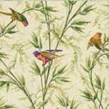 Behang Little Greene London Wallpapers IV Great Ormond St. 1890 Stable