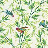 Behang Little Greene London Wallpapers IV Great Ormond St. 1890 Tropical