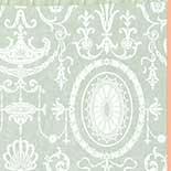 Behang Little Greene London Wallpapers IV Pall Mall 1950 Brume