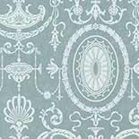 Behang Little Greene London Wallpapers IV Pall Mall 1950 Clement