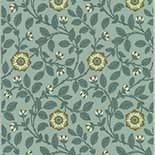 Behang Little Greene London Wallpapers IV Richmond Green 1880 Platinum