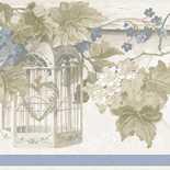 Behang Noordwand Blooming Garden IV 4186