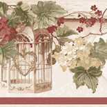 Behang Noordwand Blooming Garden IV 4188
