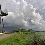 Behang Noordwand Holland 2880-250 Vlietmolen